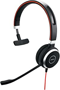 Jabra Evolve 40 MS USB Mono Corded Headset