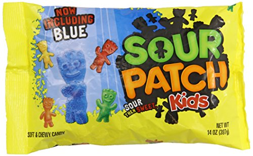 Sour Patch Kids LDN Bag, 14-Ounce (Pack of 6)