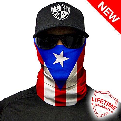 Salt Armour Face Shield | Puerto Rico Flag