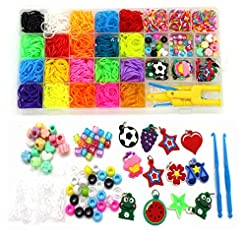 Rainbow Rubber Bands Refill Kit-Assorted...
