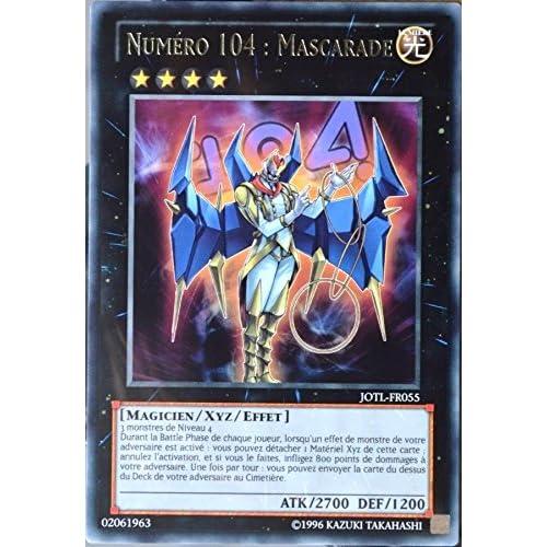 carte YU-GI-OH JOTL-FR055 Numéro 104 : Mascarade NEUF FR