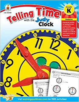 Telling Time With The Judy Clock, Kindergarten por Carson-dellosa Publishing epub