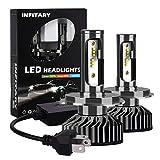 H4 LED Headlight Bulbs Infitary Car LED Headlight Assemblies Hi / Lo Beam