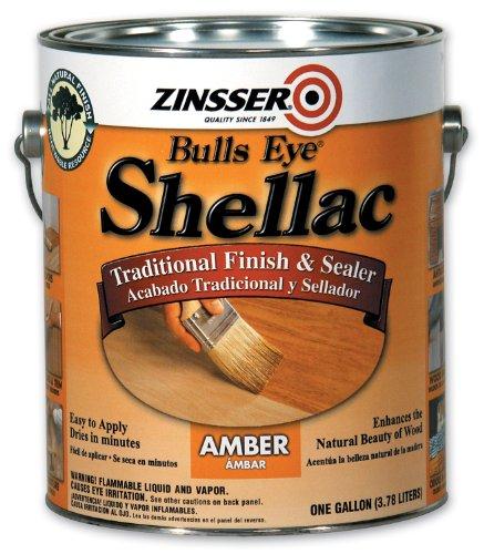 Rust-Oleum 00701 Shellac, 1-Gallon, Amber
