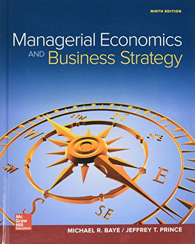 GEN COMBO MANAGERIAL ECONOMICS & BUSINESS STRATEGY; CONNECT ACCESS CARD