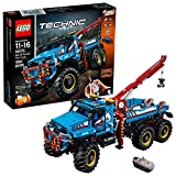 LEGO Technic 6x6 All Terrain Tow Truck 42070 Building Kit (1862 Pieces)