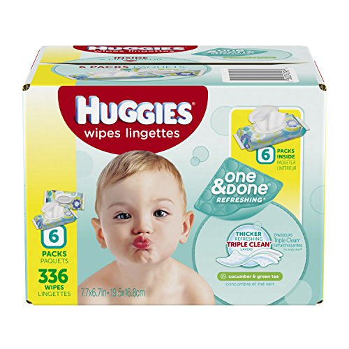 Huggies One Done Baby Wipes