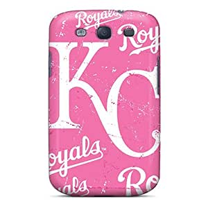 Fashionable Style Case Cover Skin For Galaxy S3- Kansas City Royals