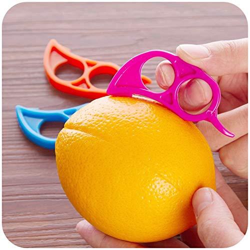 Kitchen Gadgets - 2 Pieces Lot Creative Plastic Orange Peeler Fruit Vegetable Gadgets - Joy Cutter Sink Roll Chopper India Spiralizer Openers Guys Oxo