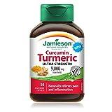 Jamieson 7996 Ultra strength curcumin turmeric Tablets, 30 Count