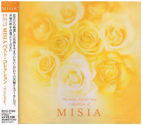 愛と安らぎのオルゴール MISIA ベスト・コレクション~Everything~の商品画像