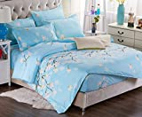 BEIRU Bedding Cotton Printing Comfortable Sanding Mattress Four Sets Of Cotton Quilt Four Sets ZXCV (Color : 6, Size : 1.8m)