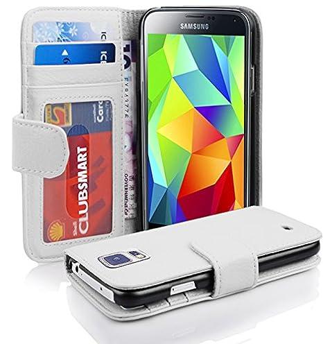 Cadorabo de de 100936 Samsung Galaxy S5/S5 Neo Magnesio Color Blanco: Amazon.es: Electrónica