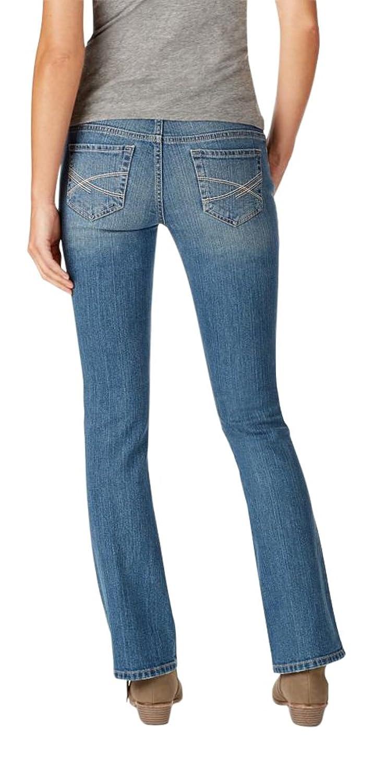Aeropostale Women's Bootcut Core Medium Wash Jean 2 Medium Wash