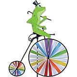 High Wheel Bike Spinner - Frog by Premier Kites