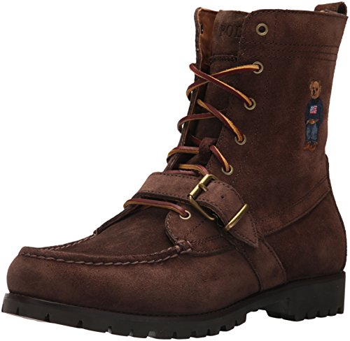 Polo Ralph Lauren Men's Ranger B Fashion Boot, Brown, 10 D US