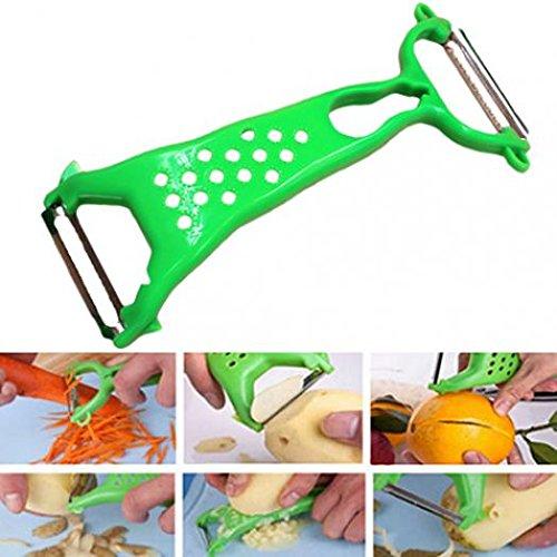 jhtceu Vegetable Fruit Peeler Parer Julienne Cutter Slicer Peel Kitchen Tool Gadget