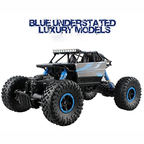 [OVERMAL 1/18 2.4GHZ 4WD Radio Remote Control Off Road RC Car ATV Buggy Monster Truck] (Four Wheeler Costume)