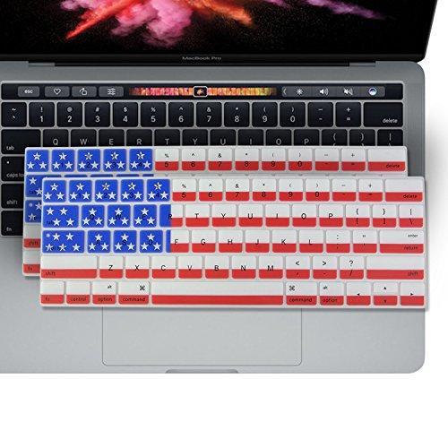 2PK - SOJITEK Keyboard Cover for MacBook New Pro 13