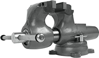 """product image for Wilton Machinist 6"""" Jaw Round Channel Vise with Swivel Base, 28833"""