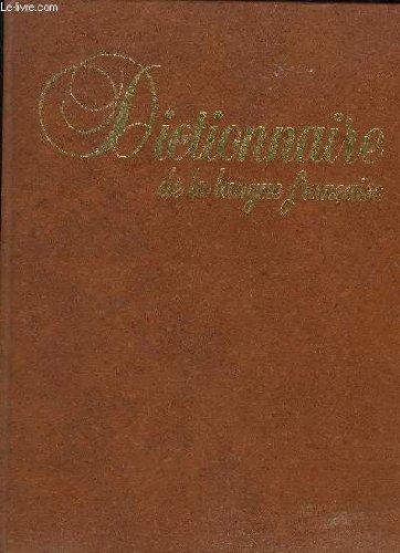 Dictionnaire : langue, encyclopédie, noms propres