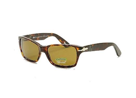 26ba6810e9 Persol Men s 3040 Tortoise Frame Brown Polarized Lens Plastic Sunglasses