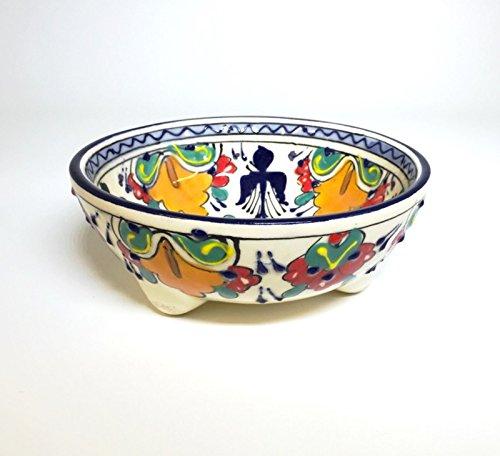 Mexican Talavera Molcajete Salsa Bowl