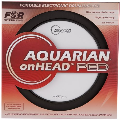 Aquarian Electro-Acoustic OHP12B Electronic Drum Pad by Aquarian