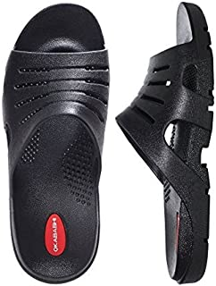 product image for Okabashi Men's Eurosport Ergonomic Waterproof Sandal Shoes (Blue Denim, 9-10)