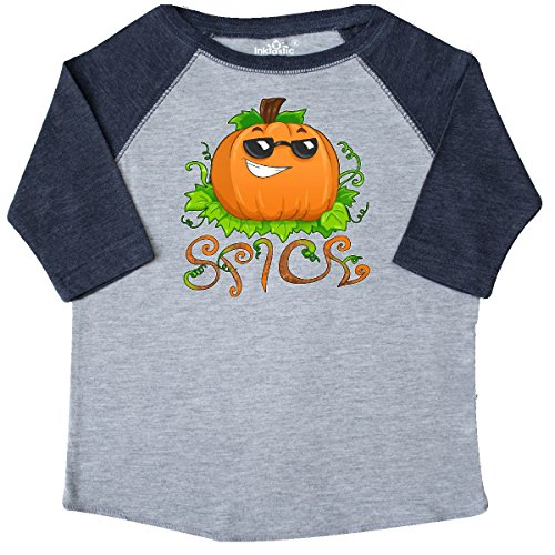 inktastic Pumpkin Spice With Sunglasses Toddler T-Shirt 2T Heather and - Sunglasses 4037