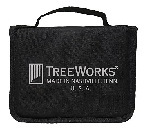 Chime Case - TreeWorks Chimes TRE57 Triangle Case for Storage and Transport of up to Three Triangles and Beaters