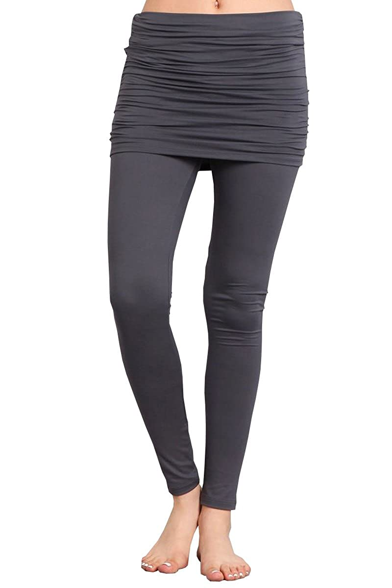 4cb82acb926934 COMFORT:This solid casual stretchy leggings will keep you warm and mobile  when needed. Lightweight and versatile in function, this activewear style  will ...