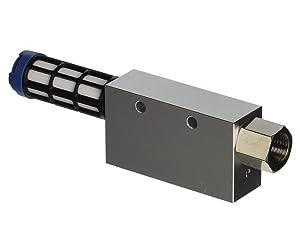 "Vacuforce CV15H CV Vacuum Venturi Generator, 1.5 mm Nozzle, 26.5"" Hg"