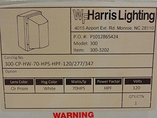 WF Harris 300-3202 Light Fixture, 70HPS Watt, 120/277/347V