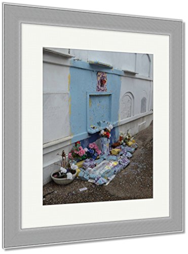 Ashley Framed Prints St Louis Catholic Cemetery New Orleans Louisiana USA, Wall Art Home Decoration, Color, 40x34 (frame size), Silver Frame, AG6544549 by Ashley Framed Prints