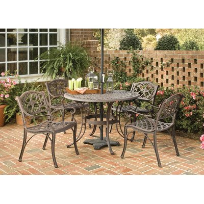 5 Piece Dining Set Table Size: 42