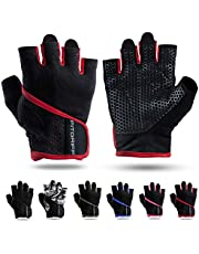 Fitgriff® Weightlifting Gloves for Men and Women - Gym Gloves for Weight Lifting, Bodybuilding & Crossfit Training - Exercise Workout Gloves