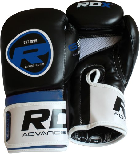 Auth RDX Rex Leather Boxing Gloves Fight Punch Bag MMA Muay Thai Grappling Pads