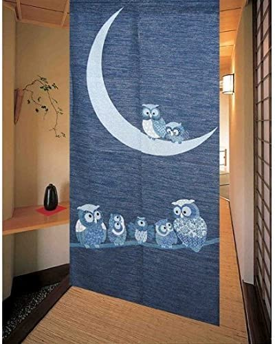Playing Kitten Japanese Door Curtain Hotel Window Home Drape Doorway Decor S