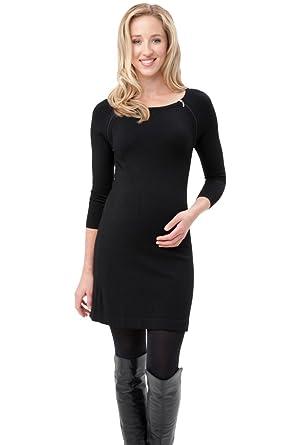 7842bf276d9cd Ripe Maternity Women's Maternity Long Sleeve Zip Nursing Tunic at Amazon  Women's Clothing store: