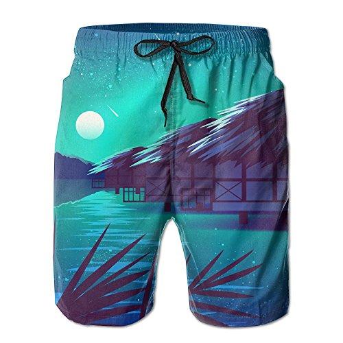 落ち着いてライフル拒否ウォータース木屋 紳士のファッションと快適のビーチショーツ スイムショーツ メッシュインナー 通気 速乾 ビーチズボン 海水パンツ ショートパンツ