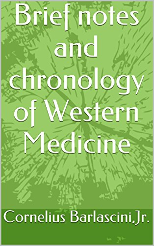 Download Brief notes and chronology of Western Medicine (1) Pdf