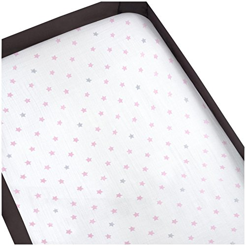 aden by aden + anais Pack N Play Sheet, Darling (Andrews Products Gear)