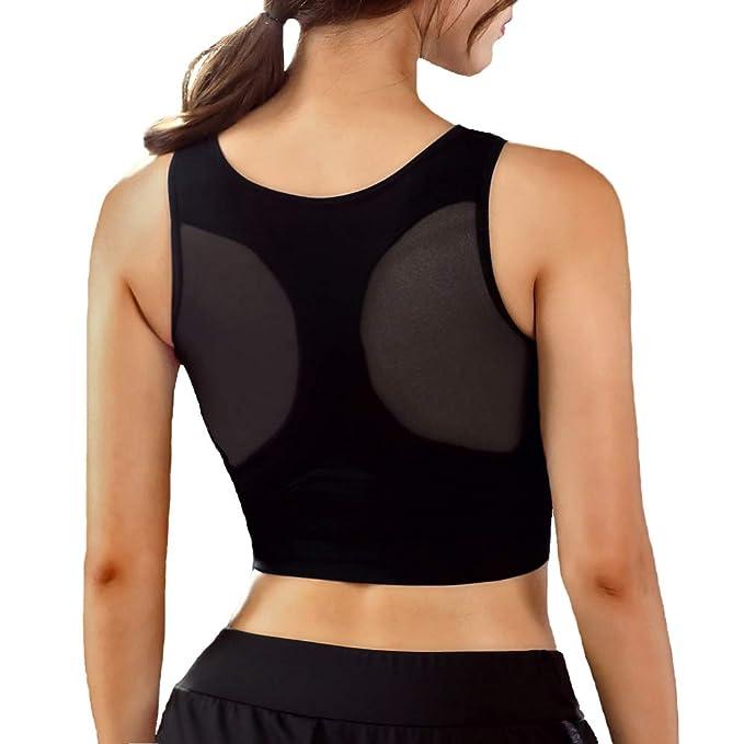 Amazon.com: IMAGL 1/2 Pack Sujetadores deportivos para mujer ...