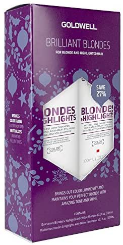 Shampoo & Conditioner: Goldwell Dualsenses Blondes & Highlights