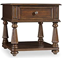 Hooker Leesburg End Table in Mahogany