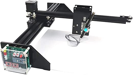 HUKOER Robot de pintura/escritura a mano,DIY Auto dibujo Escritura Robot Escritor XY Axis Plotter,para lápiz de color, lápiz, lápiz de desplazamiento, tiza líquida, etc: Amazon.es: Bricolaje y herramientas
