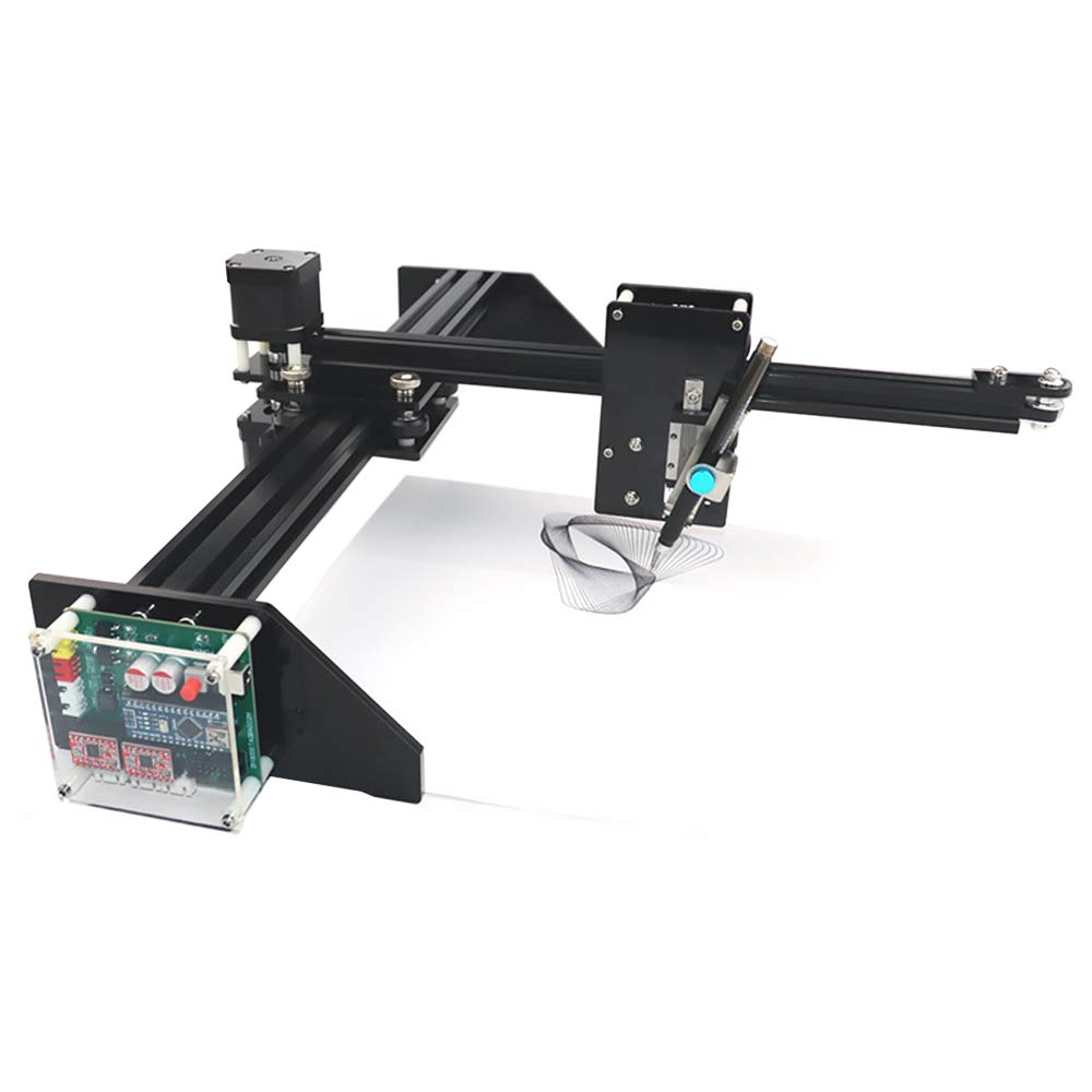 TOPQSC Metal Drawing Robot Kit Writer XY Plotter Handwriting