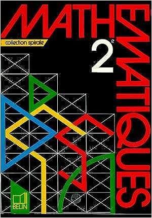 Livres gratuits en ligne Mathématiques, 2e. Livre de l'élève pdf, epub ebook