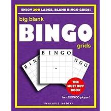 Big Blank Bingo Grids (Classic Blank Games)